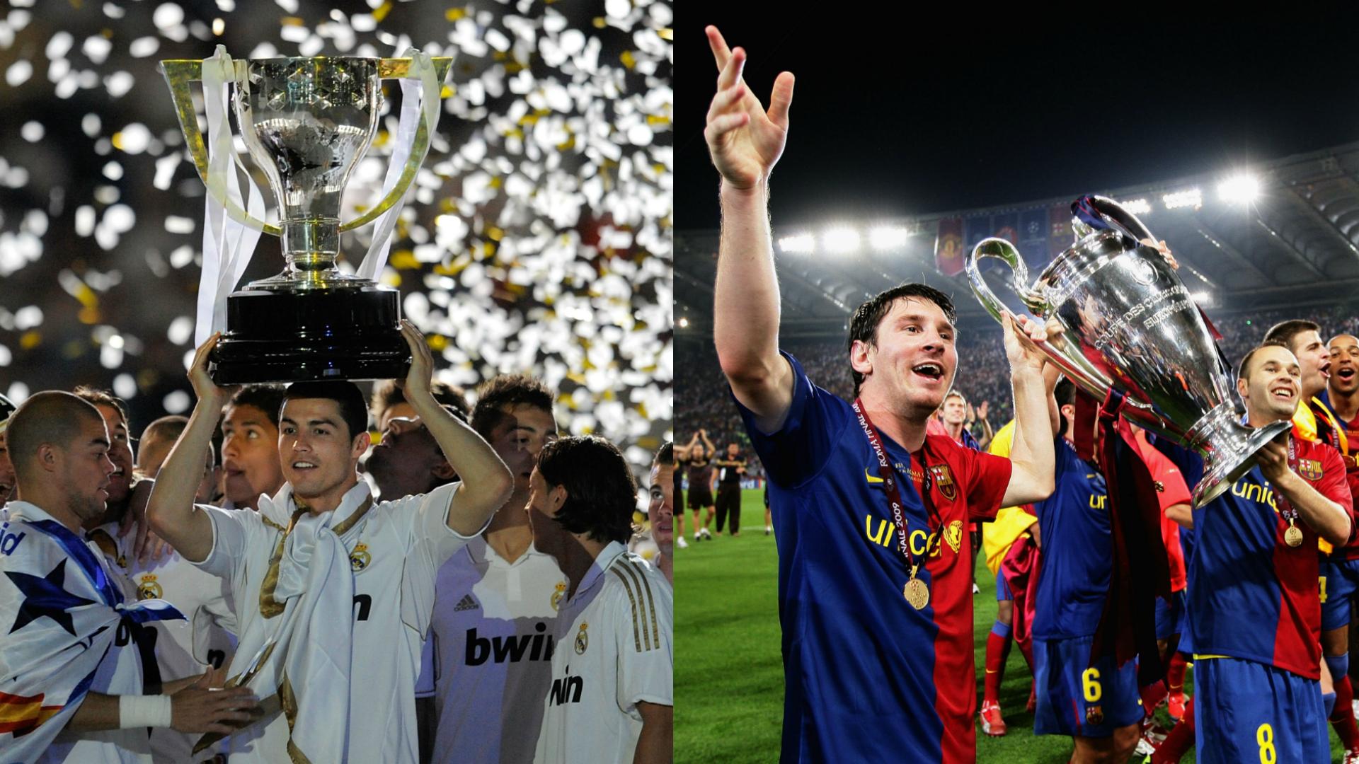Real Madrid Vs Barcelona Qué Equipo Tiene Más Títulos En La Historia Goal Com