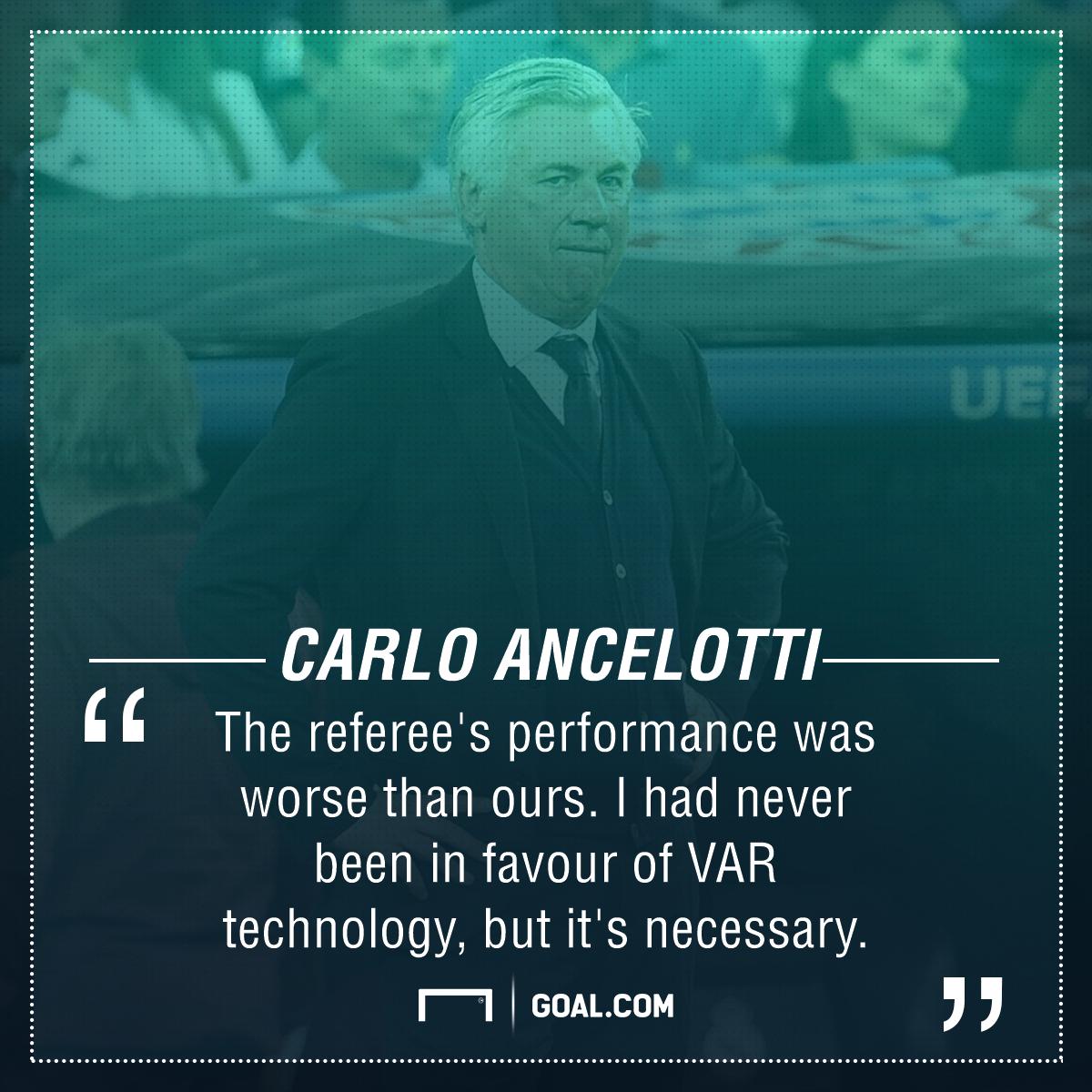Carlo Ancelotti Bayern Munich Real Madrid