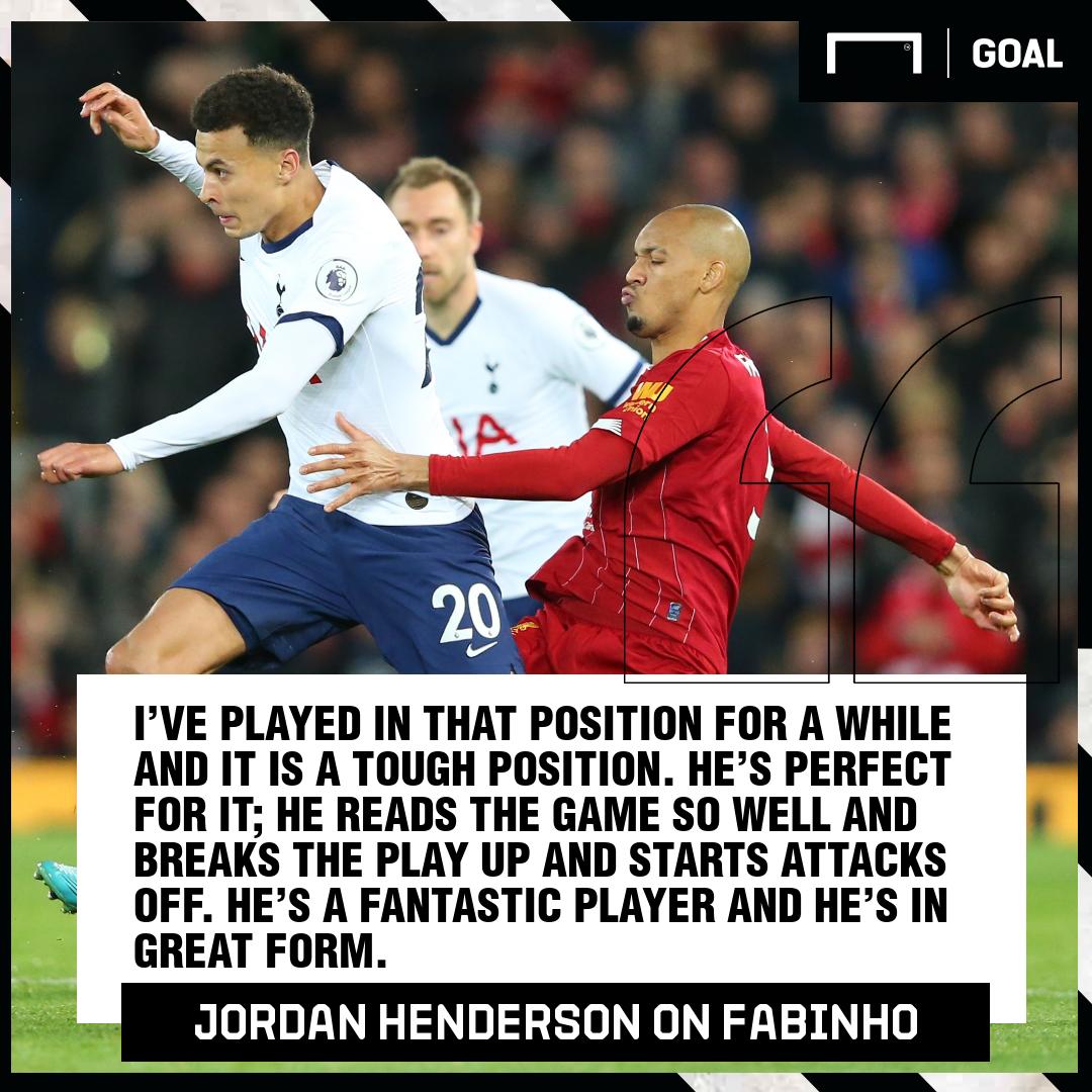 Jordan Henderson Fabinho 2019