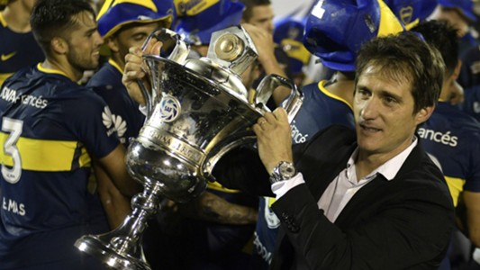 Guillermo Barros Schelotto Gimnasia Boca Superliga 09052018