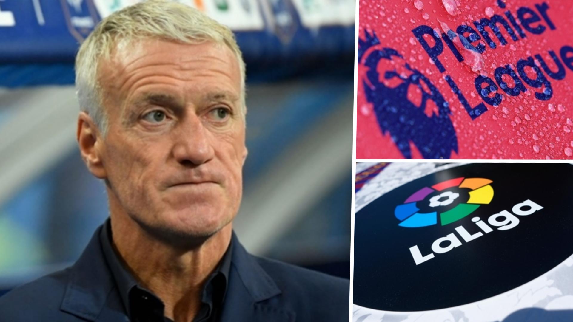 'Premier League & La Liga prioritising money' - Deschamps concerned over league restarts after coronavirus