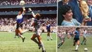 Diego Maradona Argentina 1986 World Cup GFX