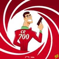 Cartoon: Special Agent 700 - Cristiano Ronaldo