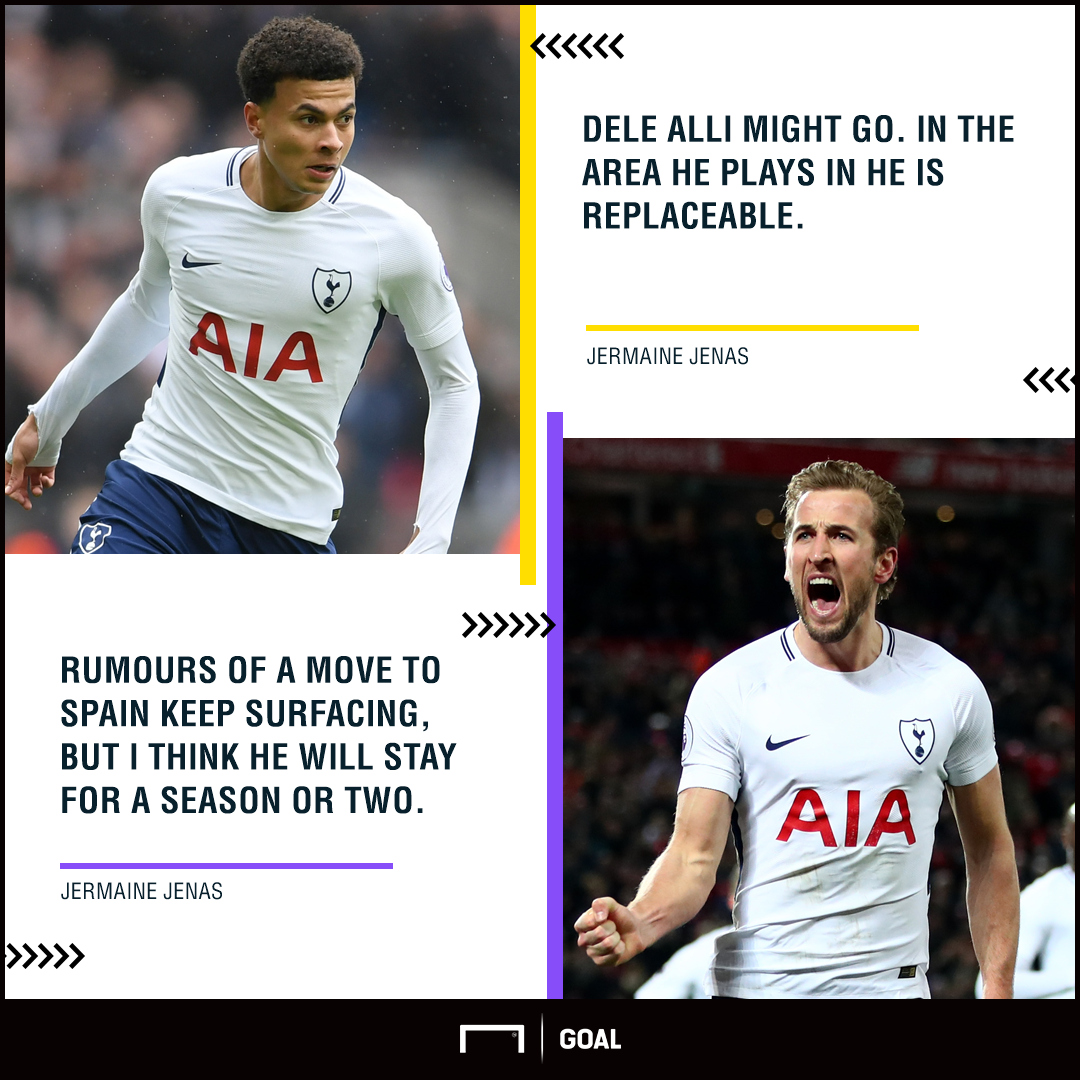 Dele Alli Harry Kane Jermaine Jenas transfers