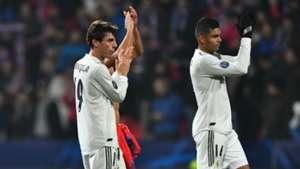 Casemiro Alvaro Odriozola Real Madrid Champions League 2018