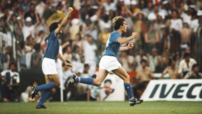 Marco Tardelli Italy West Germany 1982 World Cup