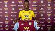 Mbwana Samatta of Tanzania and Aston Villa.