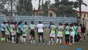 Super Falcons train for Algeria in Lagos