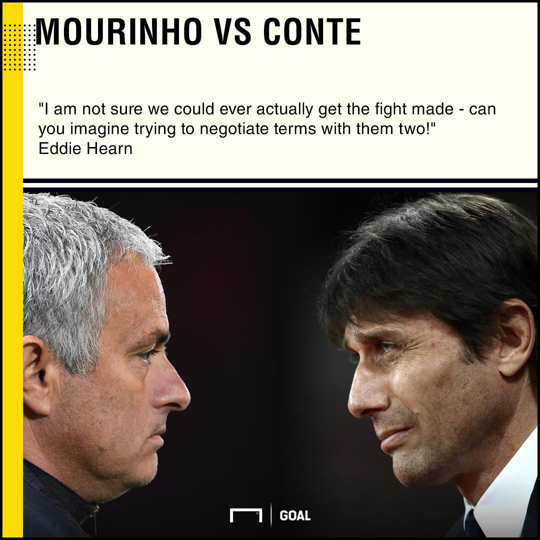 Jose Mourinho vs Antonio Conte Eddie Hearn boxing