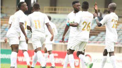 AFC Leopards players v Mwatate United.