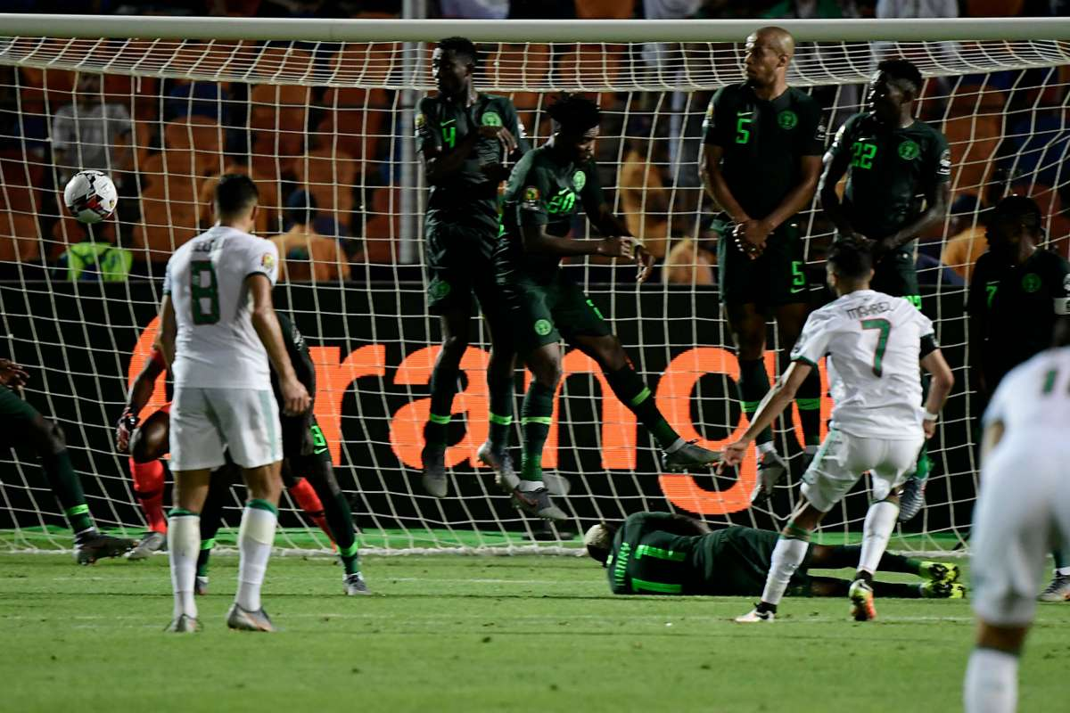 Onyekuru's position changed my free-kick against Nigeria - Algeria's Mahrez