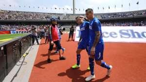Pumas Cruz Azul Milton Caraglio Cabecita Rodríguez