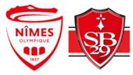 Nîmes Olympique - Stade Brestois, 4ème journée de Ligue 1, le 31 août 2019