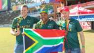South Africans rally behind national teams