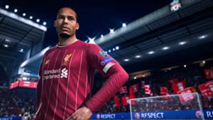 Virgil van Dijk FIFA 20