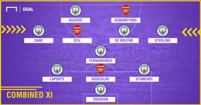 Arsenal Man City XI