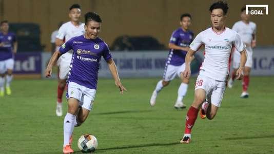(Hà Nội 0-0 Viettel) HLV Trương Việt Hoàng chỉ cách phong tỏa Quang Hải