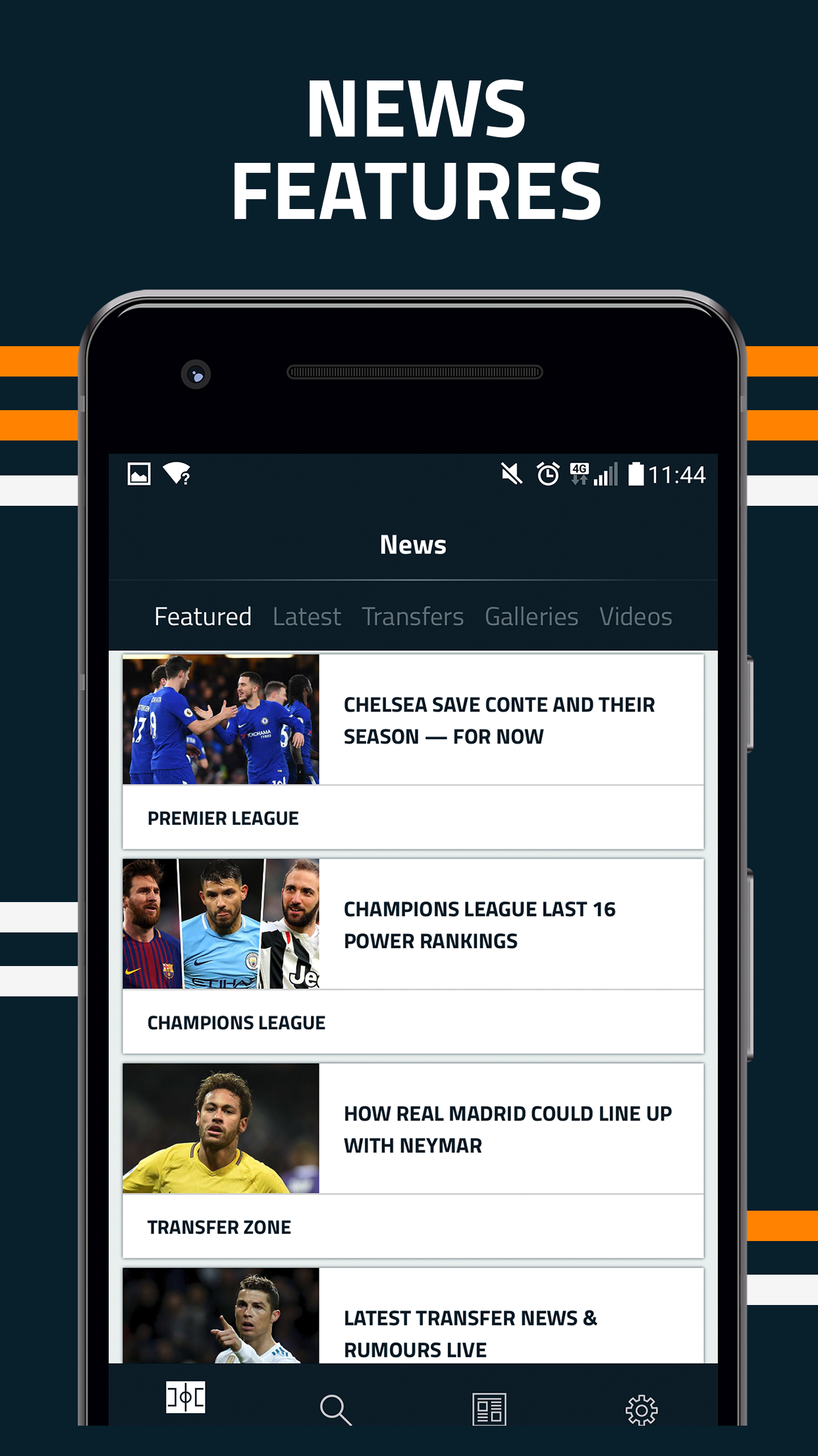 Goal Live Scores News Android