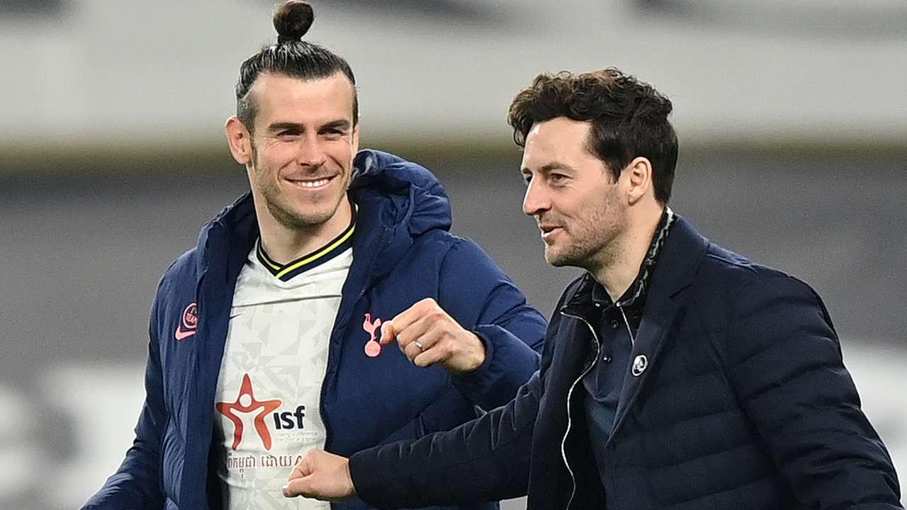 Gareth Bale Ryan Mason Tottenham 2020-21
