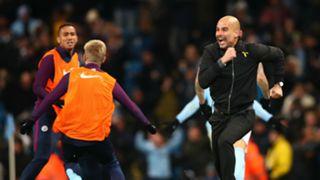 Pep Guardiola Manchester City Southampton 291117