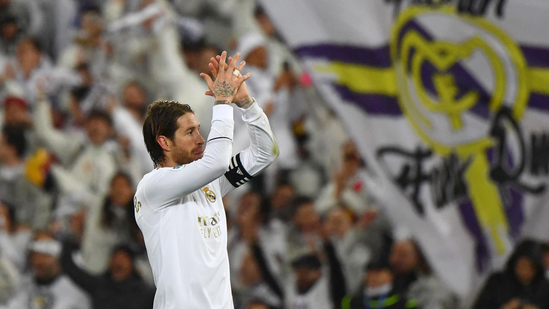 """Real Madrid - Ramos veut """"terminer la saison avec un titre"""""""