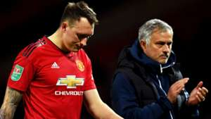 Phil Jones Jose Mourinho Man Utd 2018-19