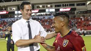 Mike Petke Joao Plata Real Salt Lake