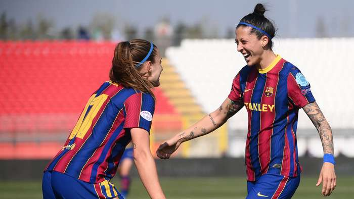 Alexia Putellas Jenni Hermoso Barcelona Women 2020-21