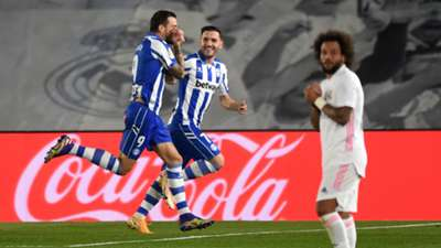 Deportivo Alaves Real Madrid Joselu Marcelo Lucas Perez 2020-21