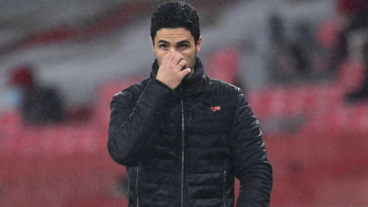 Mikel Arteta Arsenal 2020-21