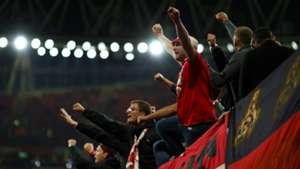 Koln fans Arsenal Europa League