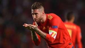Sergio Ramos España Croacia Spain Croatia UEFA Nations League 11092018