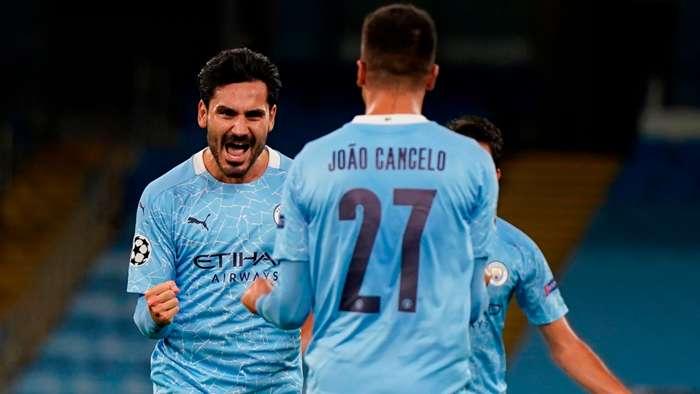 Ilkay Gundogan Manchester City 2020