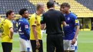 ONLY GERMANY Erling Haaland Jean Clair Todibo Borussia Dortmund Schalke 04 2020
