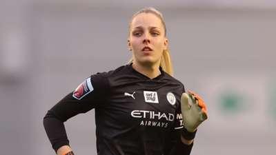 Ellie Roebuck Manchester City Women 2020-21