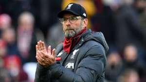 Jurgen Klopp Liverpool vs Watford 2019-20
