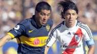 Riquelme Gallardo Boca Juniors River Plate