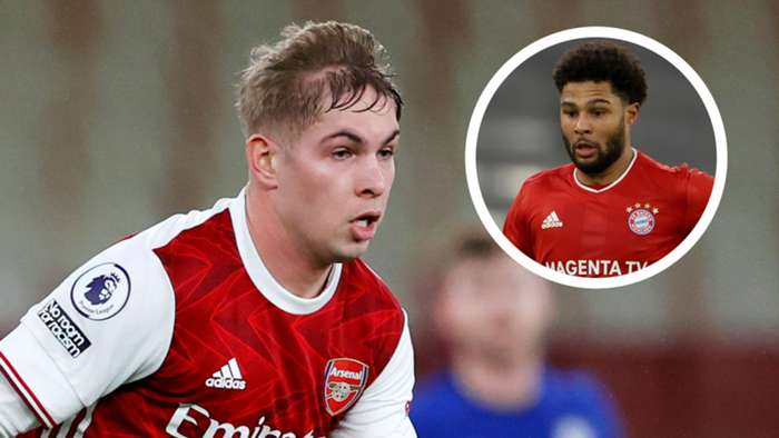 Emile Smith Rowe Serge Gnabry
