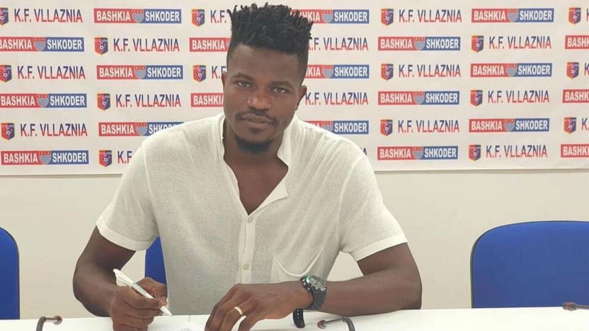 Ismael Dunga: Kenya star joins Sagan Tosu from FK Vllaznia