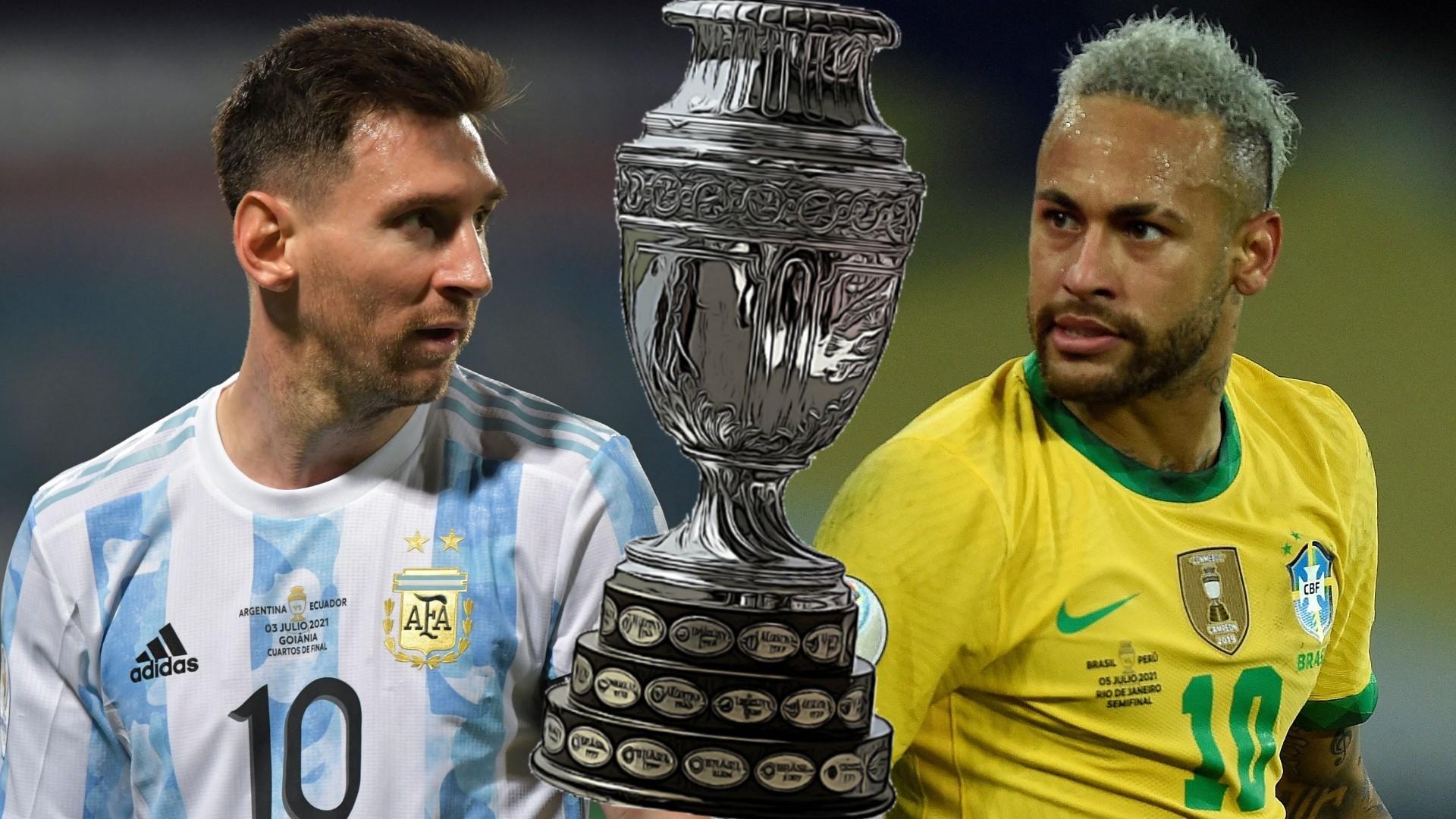 Copa America Finale Live Brasilien Vs Argentinien Live Im Tv Und Live Stream Goal Com