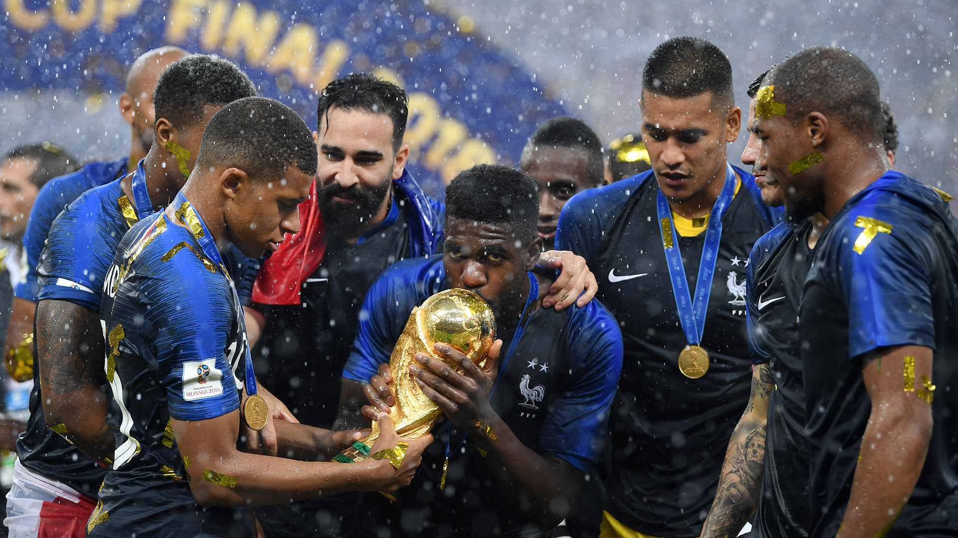 Samuel Umtiti France World Cup 2018