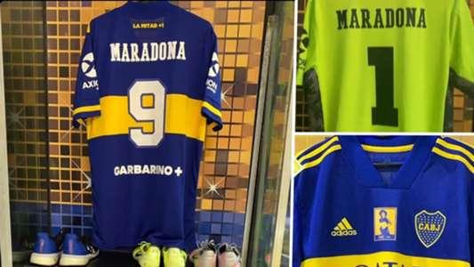 Boca Juniors põe nome de Maradona em todas as camisas para jogo contra Newell's Old Boys | Goal.com