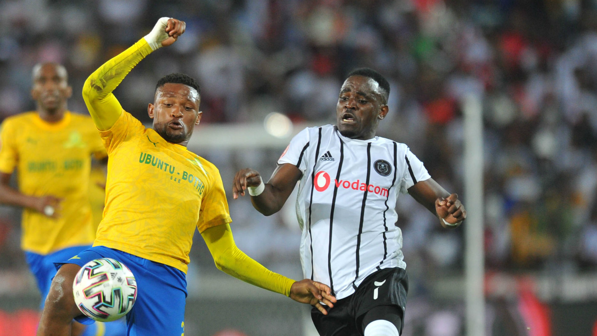 Orlando Pirates 1-0 Mamelodi Sundowns - Player Ratings: Mhango the top performer
