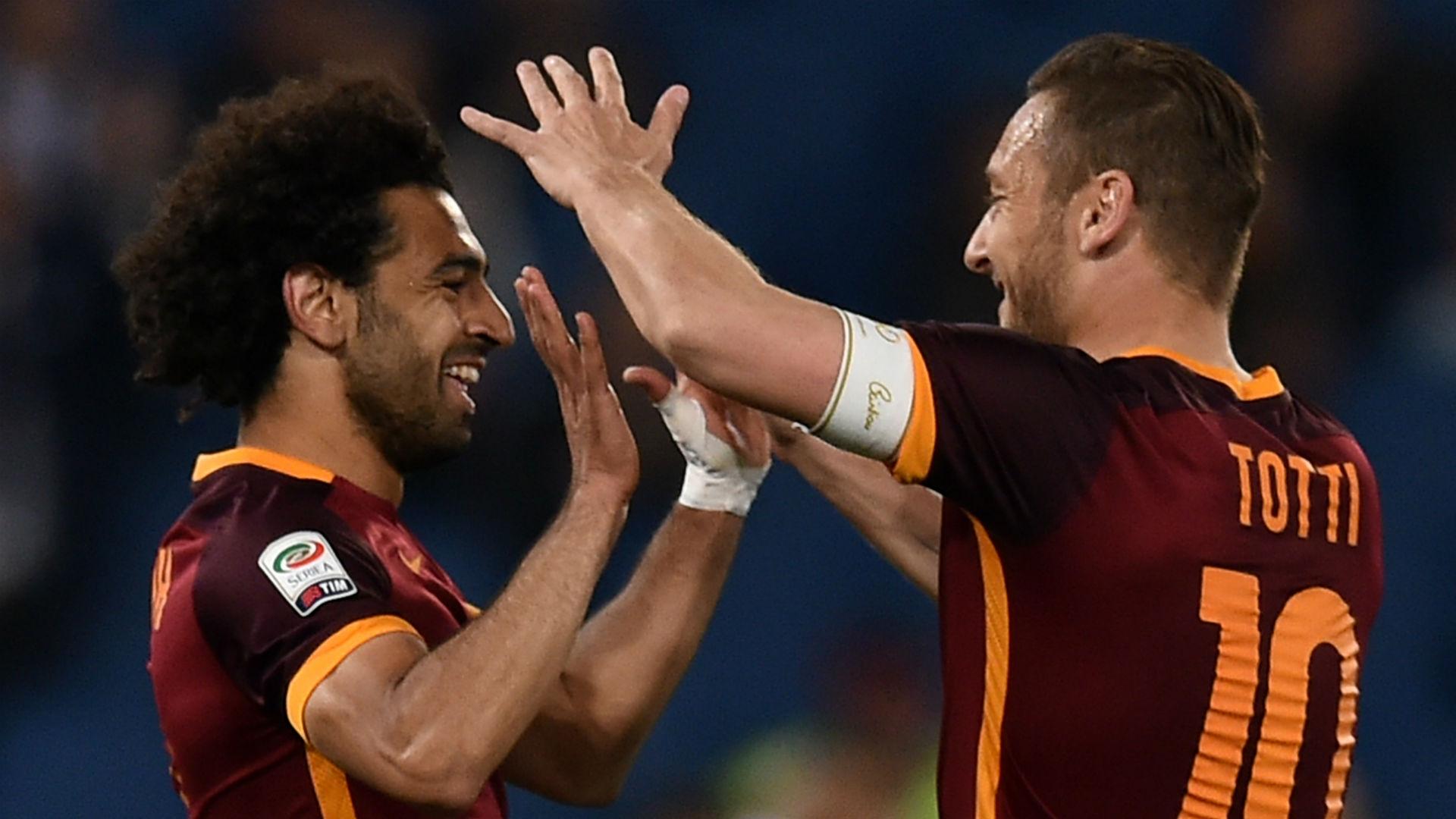 Liverpool's Salah never abandoned Roma - Totti