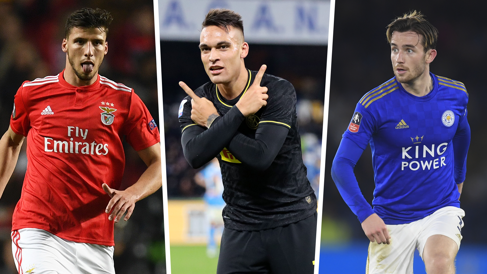 Man City Transfer Targets Dias Chilwell Lautaro Players Linked With The Club Goal Com