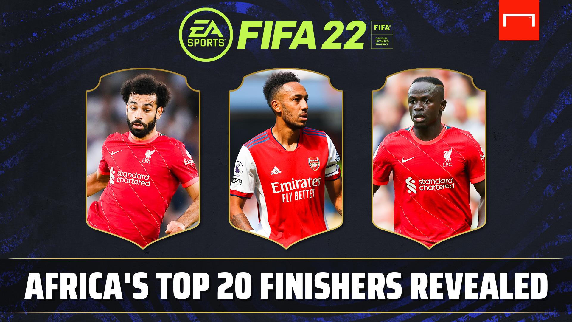 FIFA22: Africa's 20 best finishers revealed