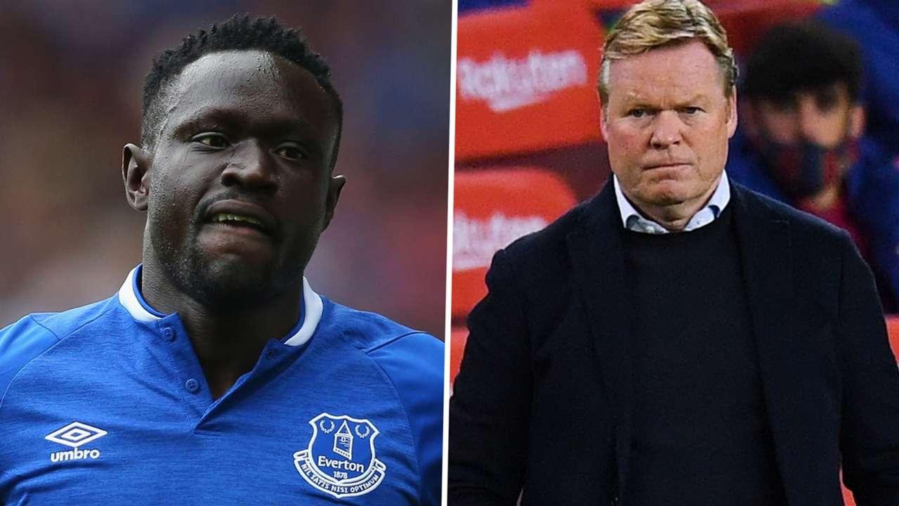 Ronald Koeman/ Oumar Niasse - Everton