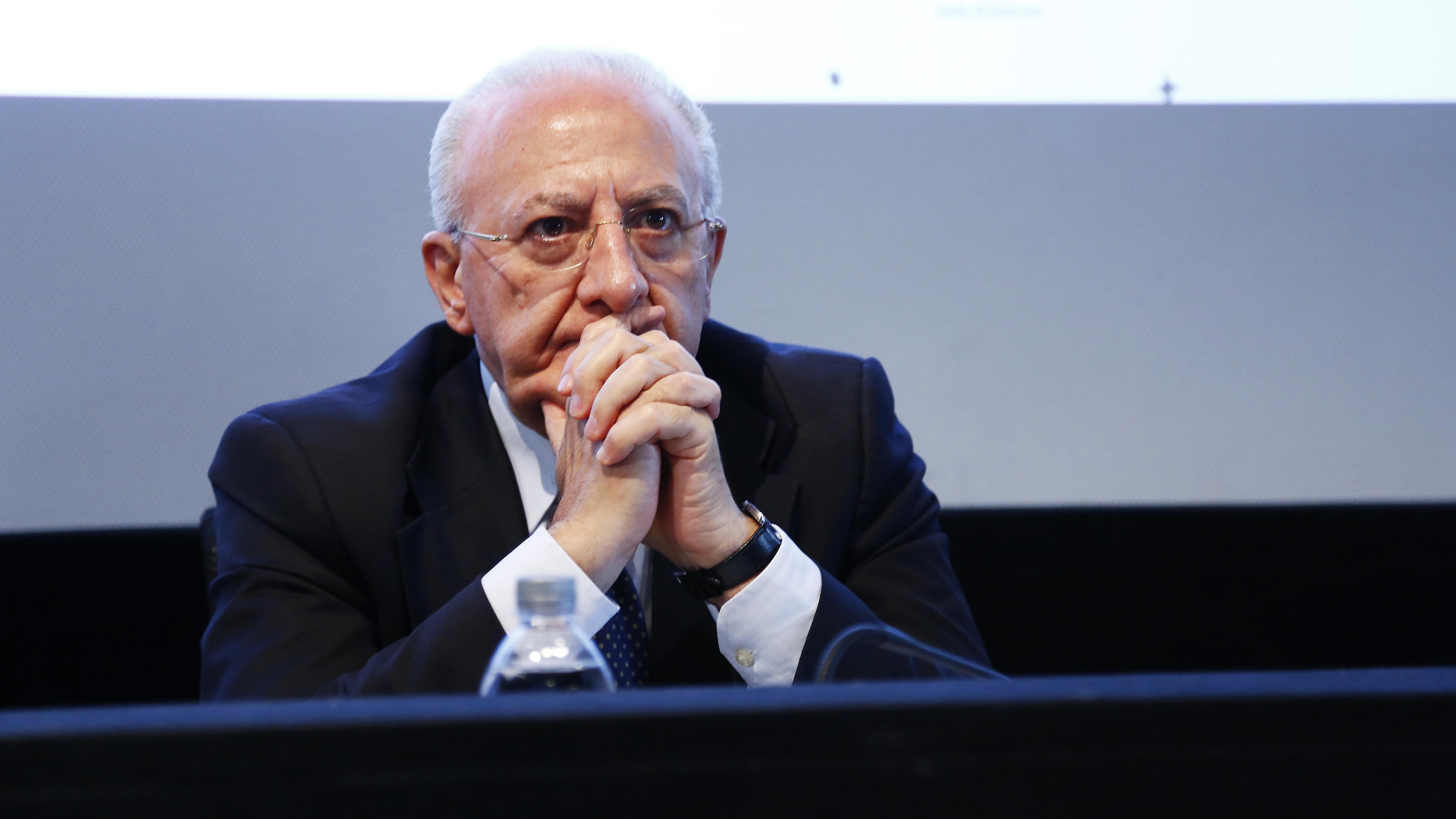 De Luca: protocollo FIGC inutile, ringraziateci per non aver contagiato Ronaldo