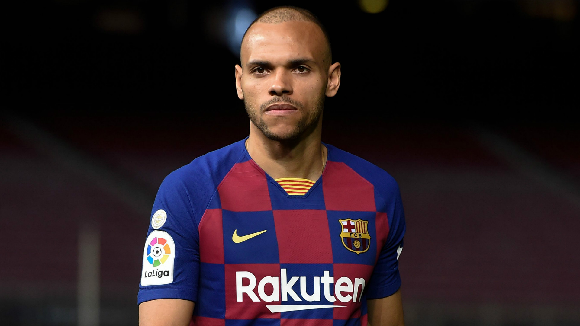 Is Barcelona signing Martin Braithwaite allowed to play in the Champions League this season?