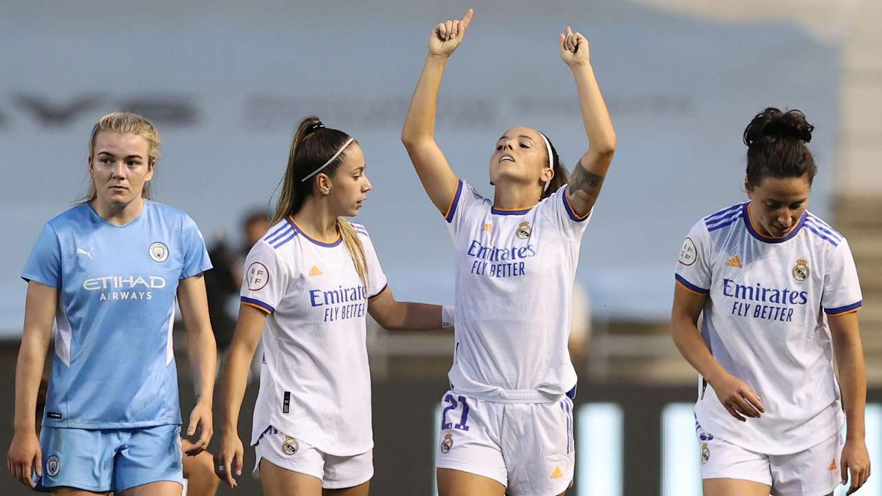 Real Madrid Manchester City Women 2021